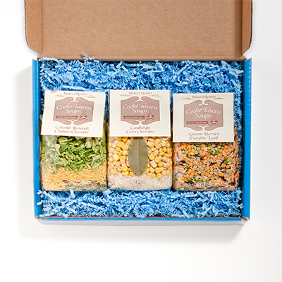 3-Soup Gift box with Cooke Tavern Soups