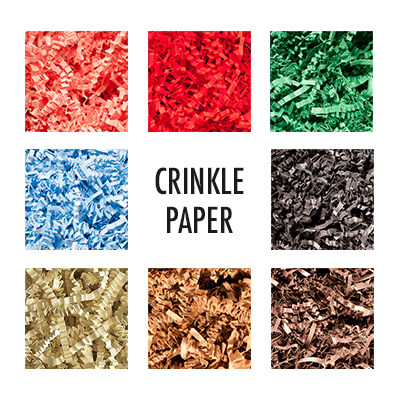 Crinkle papers