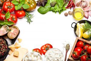 Vegetables Background Image