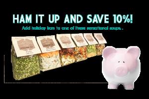 Ham it Up Header Promotion