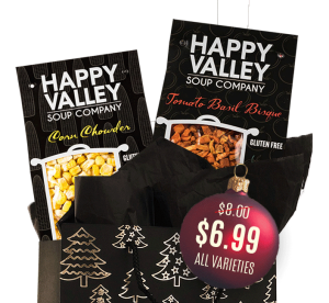 Gift Bag with Happy Valley Soups