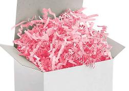 Pink Crinkle Paper