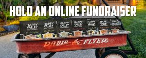 Wagon with Happy Valley Soups - Hold an Online Fundraiser